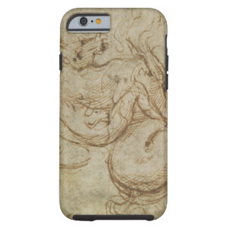 Horse and Cavalier (pen and ink on paper) Tough iPhone 6 Case