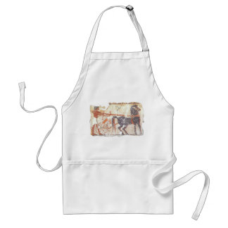 Horse and Chariot Adult Apron