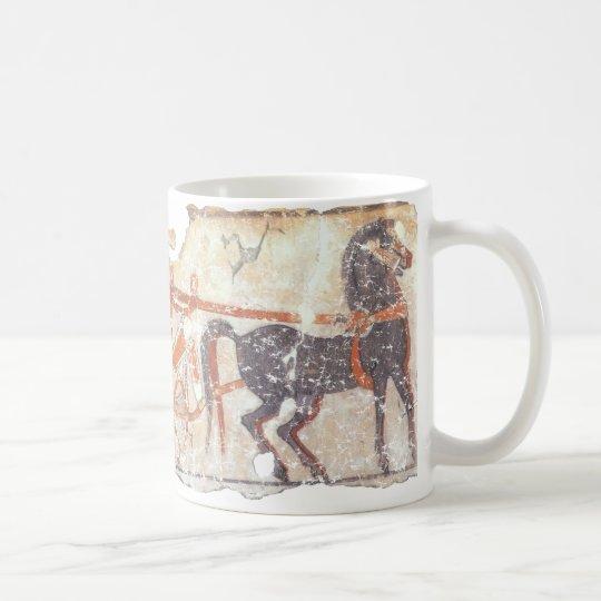 Horse and Chariot Coffee Mug