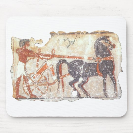 Horse and Chariot Mouse Pad