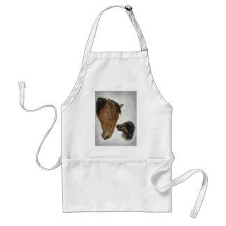 Horse and Dog Apron