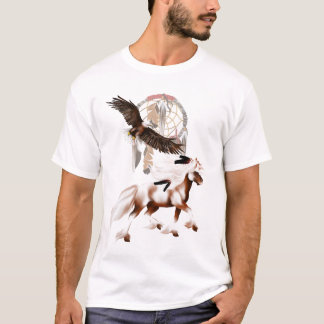 Horse and Eagle T Shirt