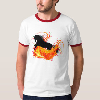 Horse and fire T-Shirt
