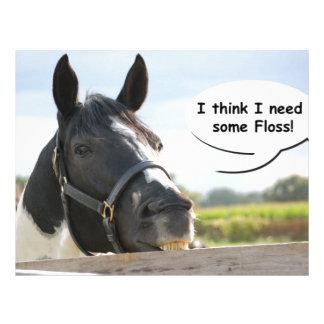 Horse and Floss Letterhead