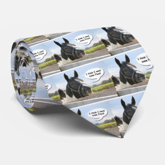 Horse and Floss Tie