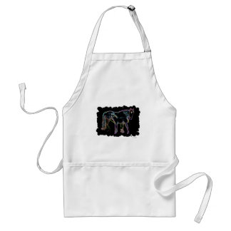 Horse and Foal Adult Apron