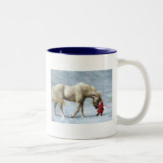 Horse and Girl Mug