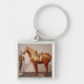 Horse and groom, Tang Dynasty Keychain