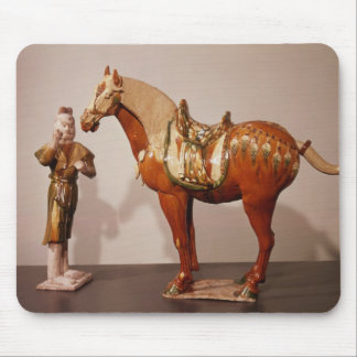 Horse and groom, Tang Dynasty Mousepads