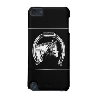 Horse and Horseshoe Scratch Art iPod Touch (5th Generation) Cover