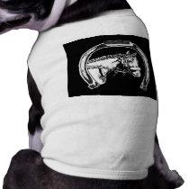 Horse and Horseshoe Scratch Art Shirt