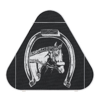 Horse and Horseshoe Scratch Art Speaker