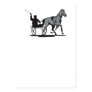 Horse and Jockey Harness Racing Business Card Templates