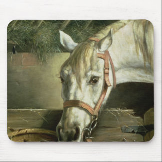 Horse and kittens, 1890 mouse pad
