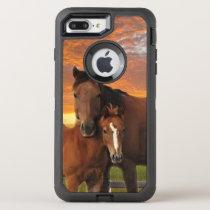 horse and poney OtterBox defender iPhone 8 plus/7 plus case