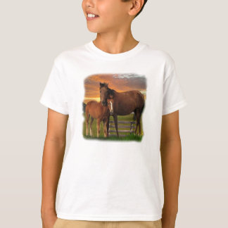 horse and poney T-Shirt