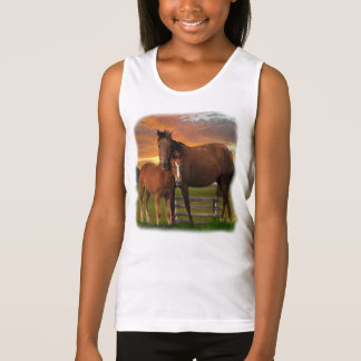 horse and poney tank top