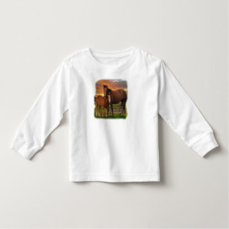 horse and poney toddler t-shirt