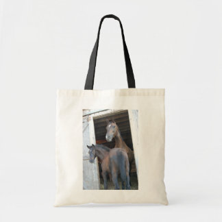 Horse and Pony Tote Bag
