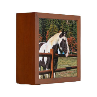 HORSE AND RAIL FENCE Pencil/Pen HOLDER