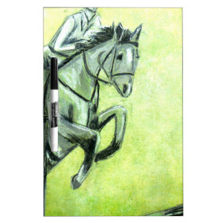Horse and Rider Dry-Erase Boards