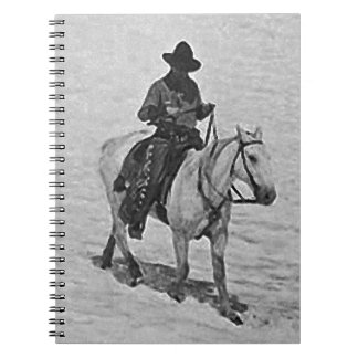Horse and Rider illustration Note Book