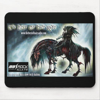 Horse and Rider Mousepad