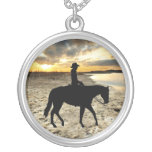 Horse and Rider Necklace