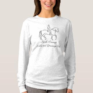 Horse and rider piaffe logo T-Shirt