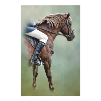 Horse And Rider Stationery