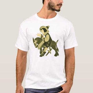 Horse and Rider Vintage Illustration T-Shirt