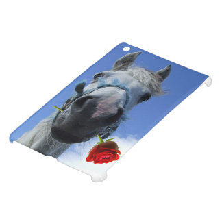 Horse and Rose love theme Case For The iPad Mini