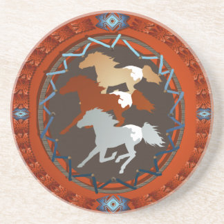 Horse and Shield- Coaster