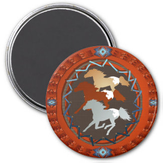 Horse and Shield Magnet