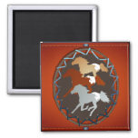 Horse and Shield_Magnet Magnet