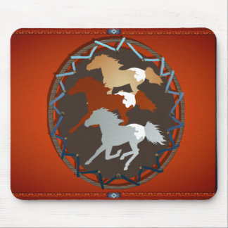 Horse and Shield_Mousepad Mouse Pad