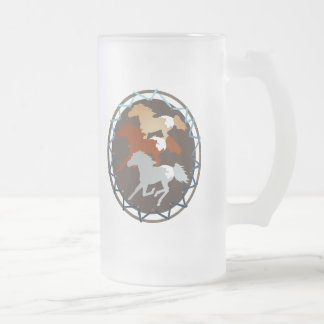 Horse and Shield Mugs