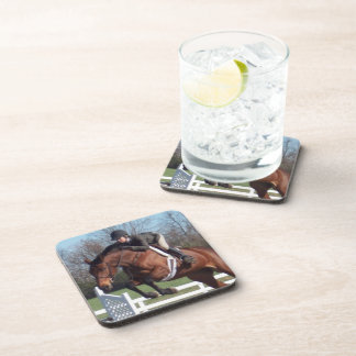 Horse and Show Jumping Set of Coasters