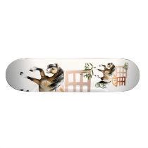 Horse and Symbol-year of the horse Skateboard. Skateboard Deck