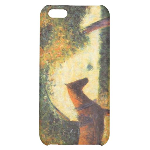 Horse and wagon by Georges Seurat Cover For iPhone 5C