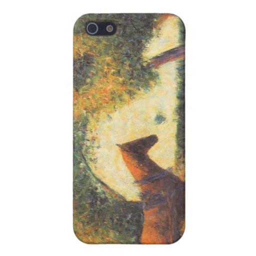 Horse and wagon by Georges Seurat Cases For iPhone 5