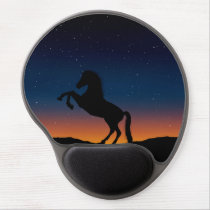 Horse Animal Nature Gel Mouse Pad