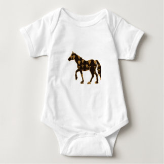 HORSE animal RACE PET gamble NavinJOSHI NVN55 Baby Bodysuit