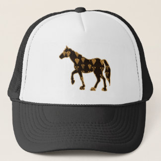 HORSE animal RACE PET gamble NavinJOSHI NVN55 Trucker Hat