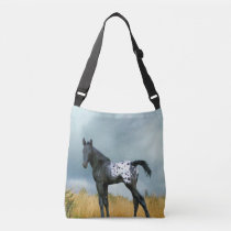 Horse Appaloosa Colt All Over Print Cross Body Bag