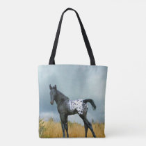 Horse - Appaloosa Colt All Over Print Tote Bag