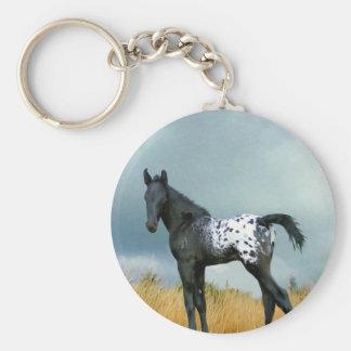 Horse - Appaloosa Colt Keychain
