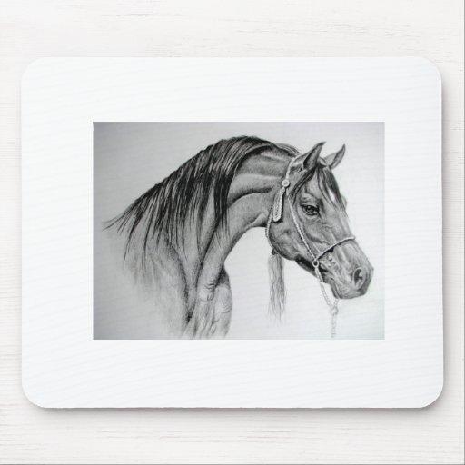 horse Arab ian Mouse Pad