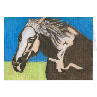 HORSE AROUND CARD