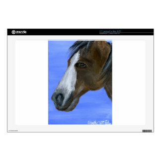 """Horse art acrylic painting skins for 17"""" laptops"""